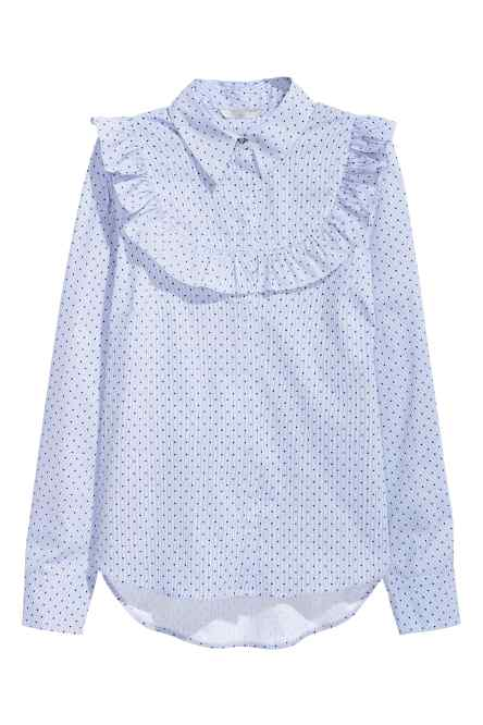 camisa victorana hm