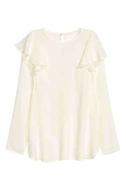 camisa victoriana hm 2