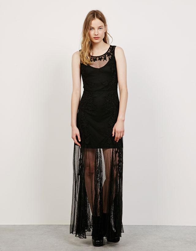 vestido gótivo bsk
