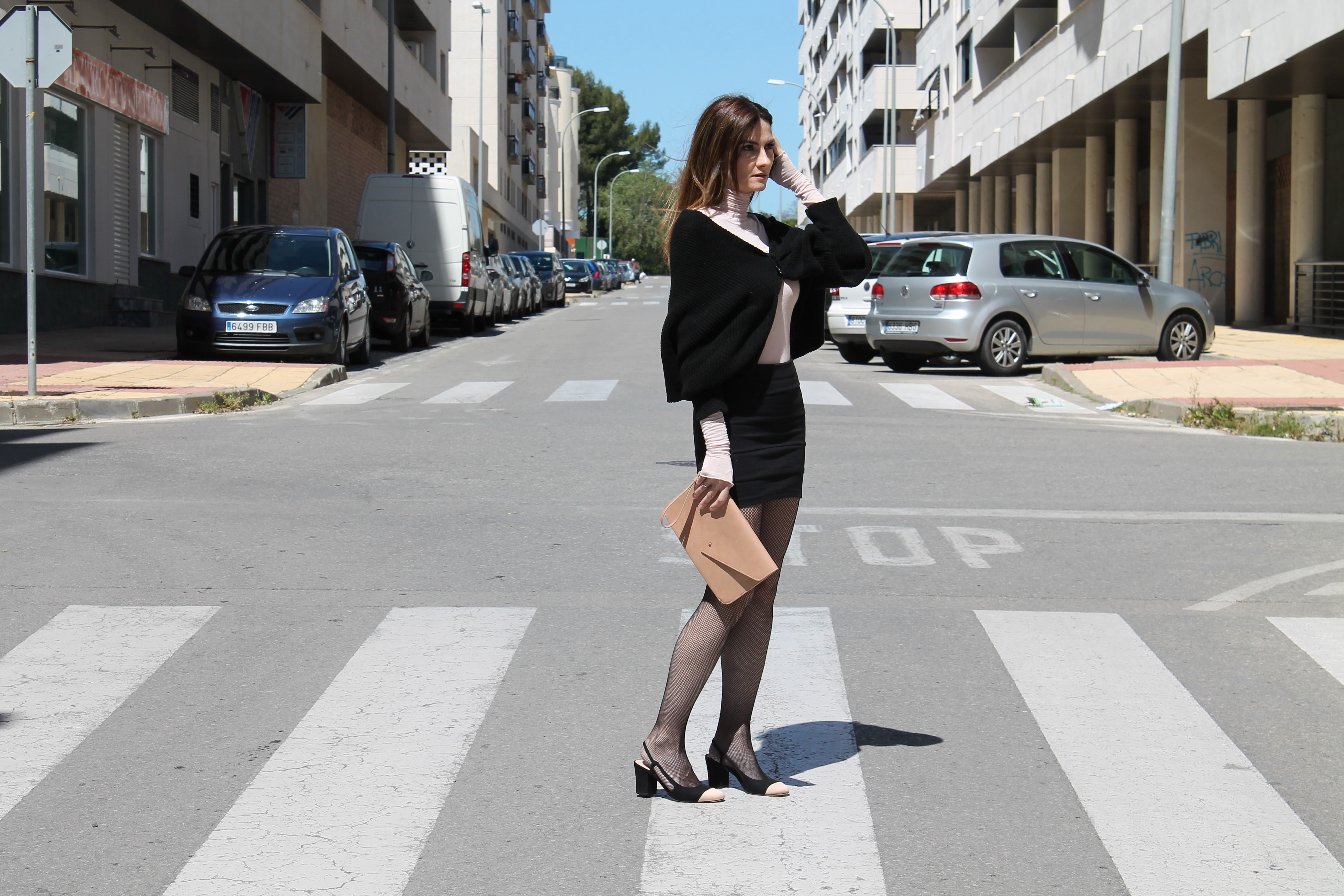 Favori Pale Pink & Black Outfit - El Rincón de Rachel VE92
