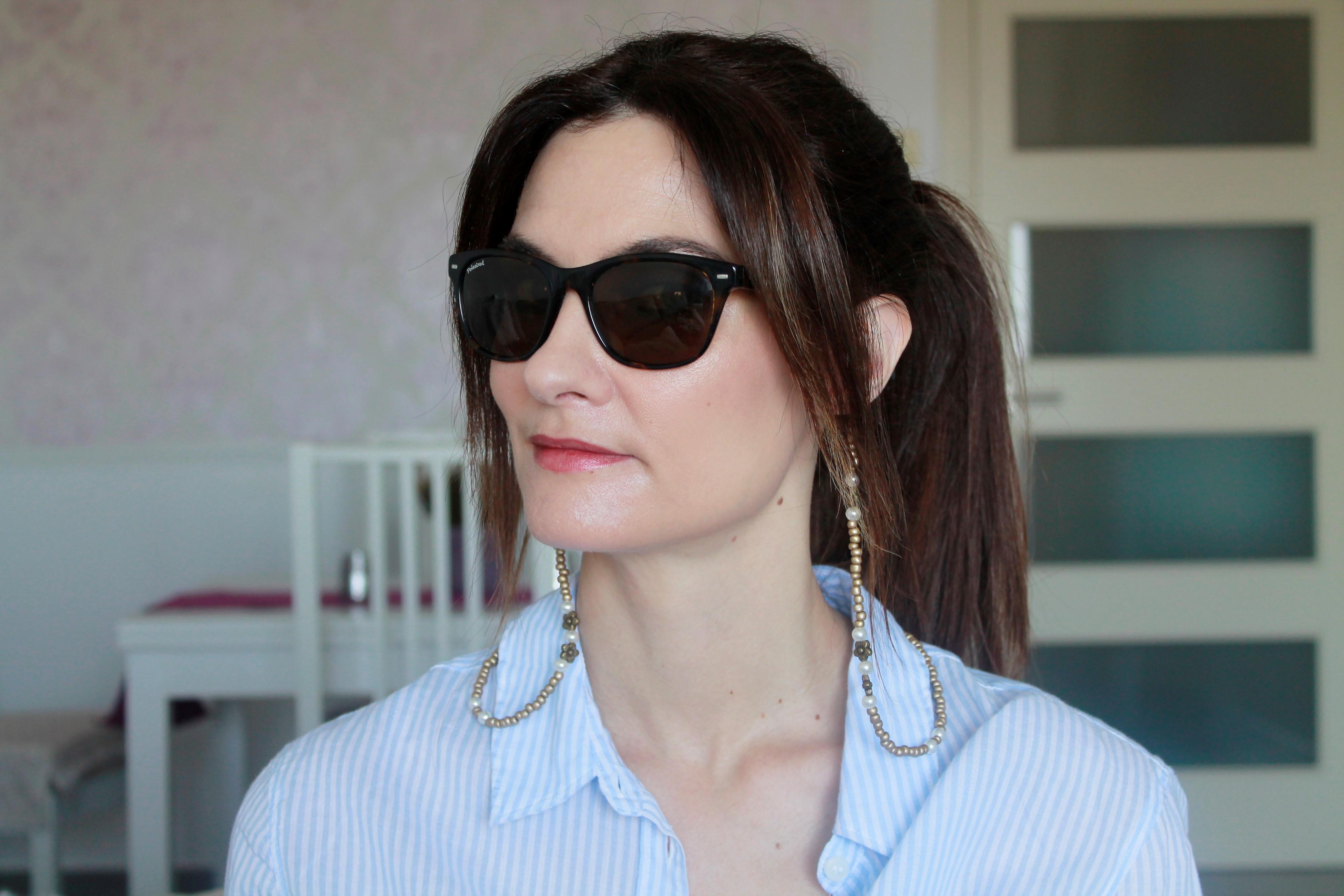 Rachel Cordón De El En Para Rincón Uno Y Gafas Collar OPkTuZXi